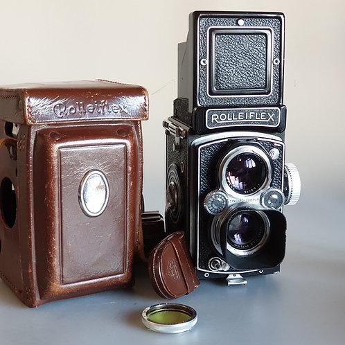Rolleiflex Automat K4B 3.5 B MX-EVS & Tessar 3.5 75mm