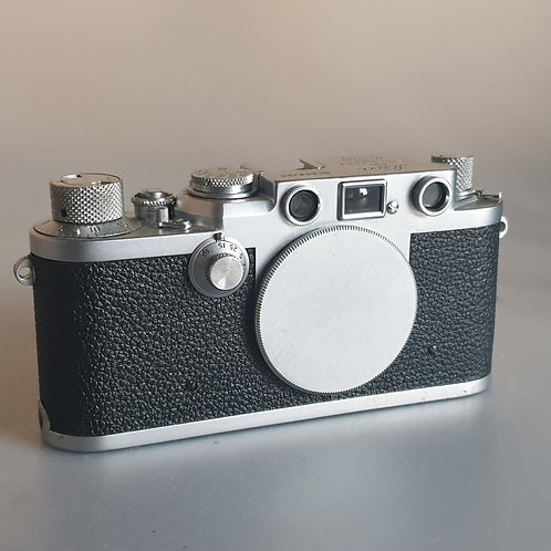 Leica IIIf 1953 Ernst Leitz Wetzlar Red Dial body only, with issues