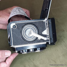 At that point you may have to trigger the shutter to free up the winding crank!