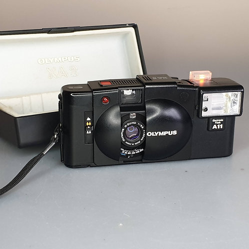 Olympus XA2. Fully film tested. Excellent condition. Original box.
