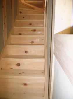 羽村A邸 階段