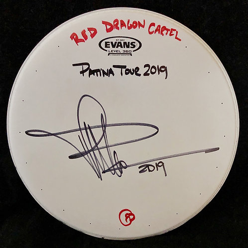 "USED 14"" DRUM HEADS FROM RDC 2019 PATINA TOUR"