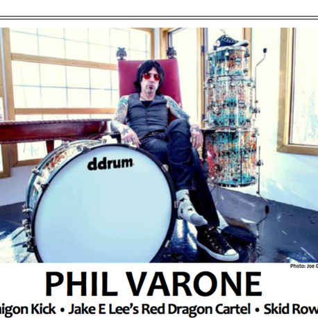 DRUMHEAD MAGAZINE  enSNAREDv.s at first glance... by Phil Varone