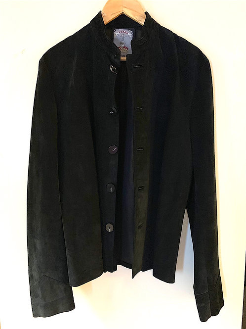CUSTOM MADE LORDS BLACK  SUEDE JACKET used for videos/photos