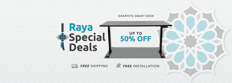 1920 x 1080px Raya Special Deals Website