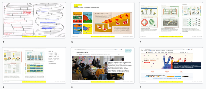 What education does+What design can do