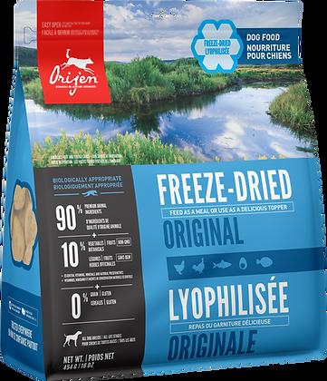 Original            Freeze-Dried Dog Food