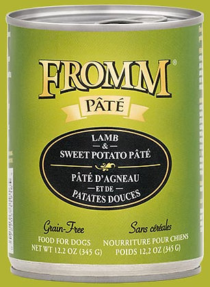 Lamb & Sweet Potato Pate (Grain Free) (Dog)