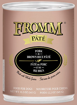 Pork & Brown Rice Pate (Dog)