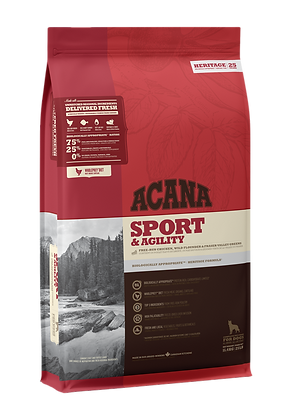 Sport & Agility            Dry Dog Food