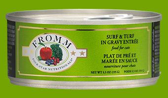 Surf & Turf in Gravy Entree (Cat)