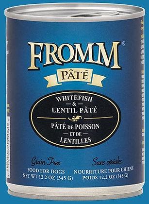 Whitefish & Lentil Pate (Grain Free) (Dog)