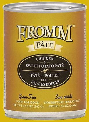 Chicken & Sweet Potato Pate (Grain Free) (Dog)