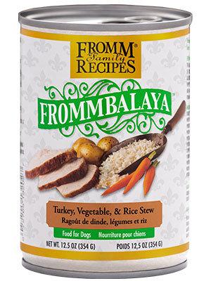 Turkey, Vegetable, & Rice Stew (Grain Free) (Dog)