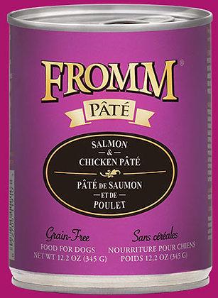 Salmon & Chicken Pate (Grain Free) (Dog)
