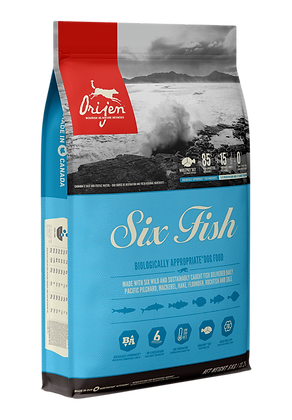 Six Fish            Dry Dog Food