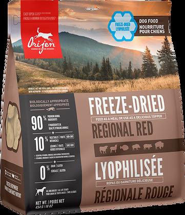 Regional Red            Freeze-Dried Dog Food