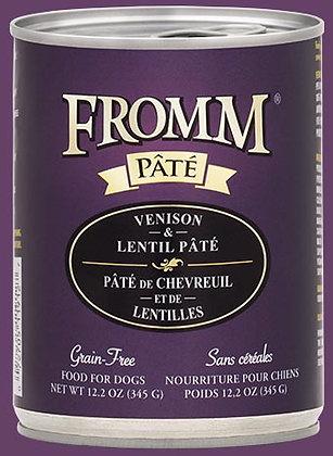 Venison & Lentil Pate (Grain Free) (Dog)