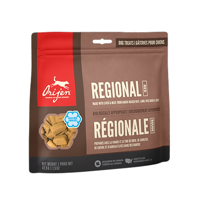 Regional Red            Freeze-Dried Dog Treats