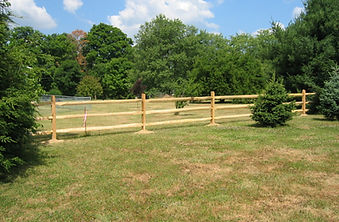 three-rail fence