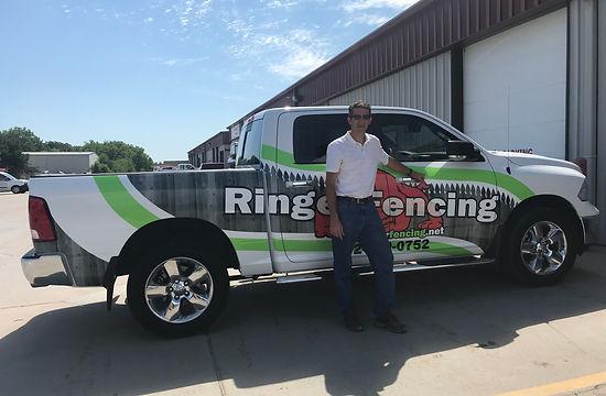 Ringer Fencing truck