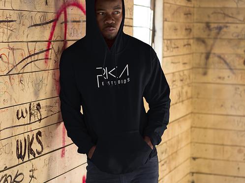 Rika E Studios Unisex Pullover Hood (Vinyl Print)