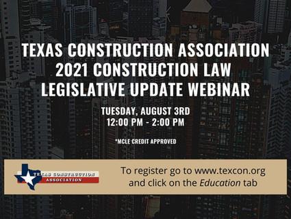 TCA Legislative Update