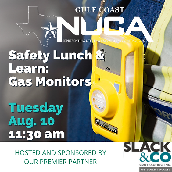 Gulf Coast Lunch & Learn: The Ins & Outs of Gas Monitors