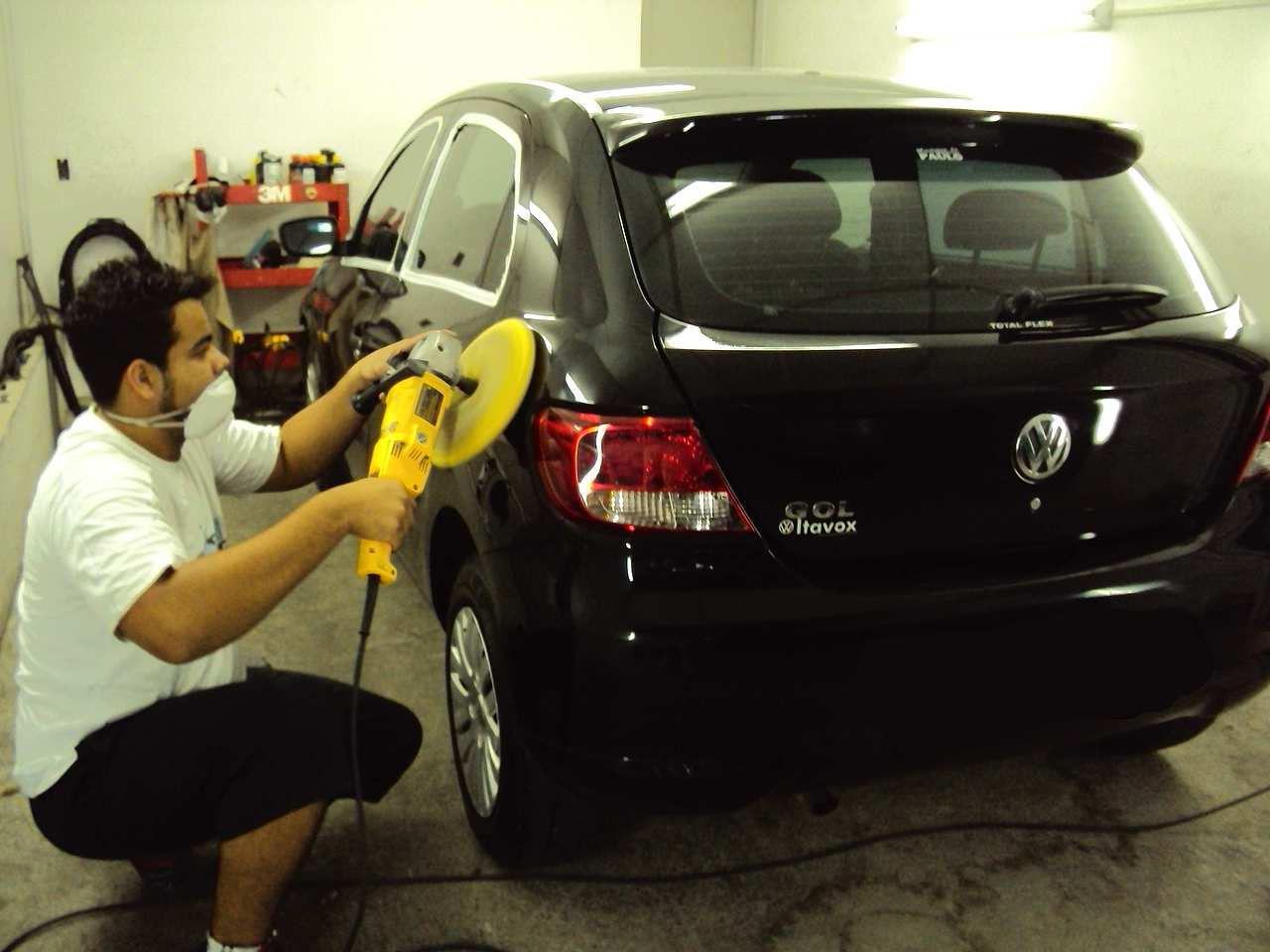 polimento de carros tira riscos