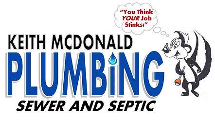 Keith McDonald Plumbing Logo