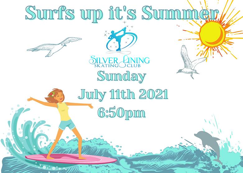 Copy of Surfs up summer show announcemen