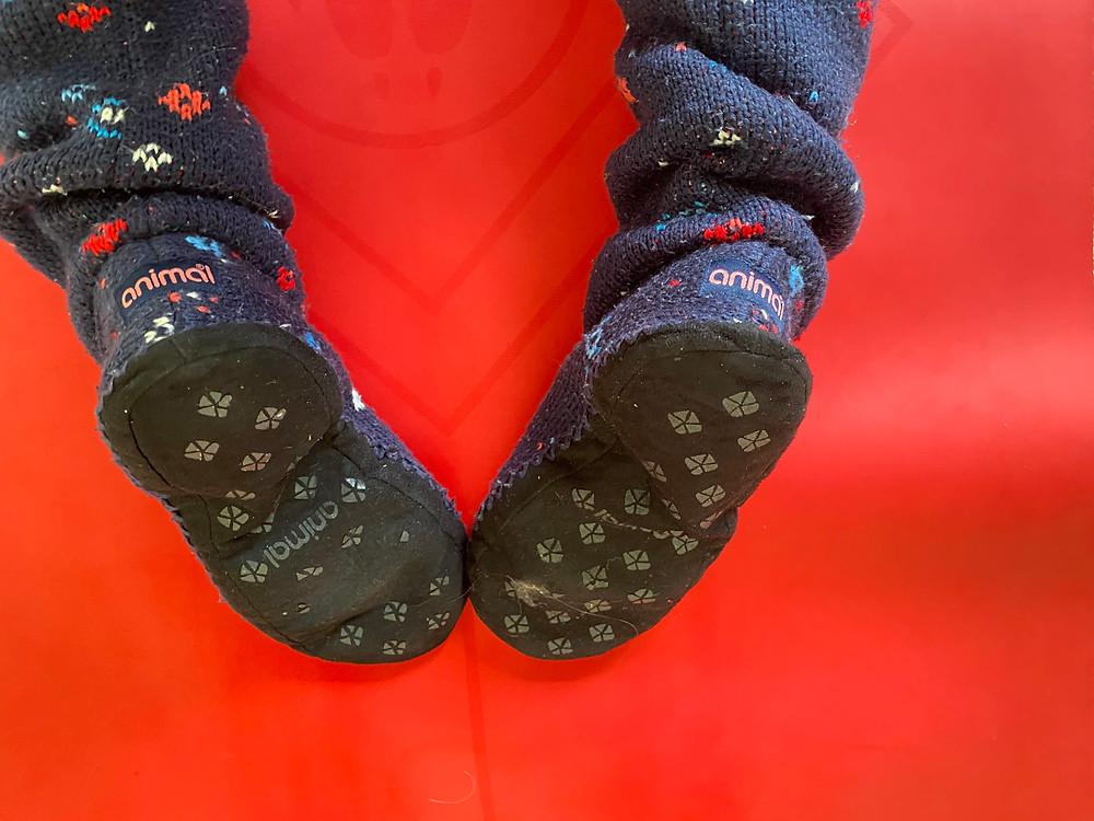 Animal slipper socks