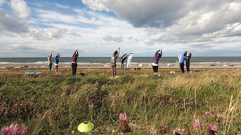 Yoga by the sea Whitby