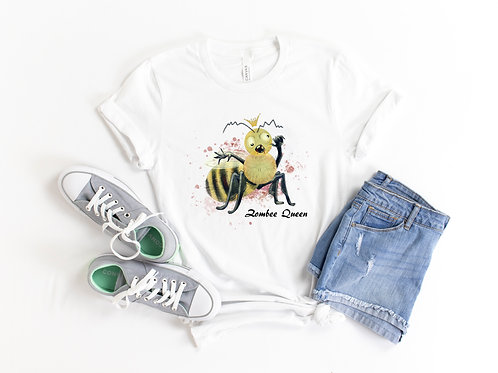 Zombee Queen Short-Sleeve Unisex T-Shirt