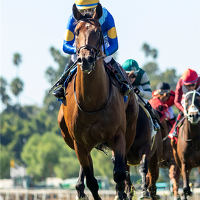 Hit the Road all business in winning $100,000 Zuma Beach Stakes by 2 ¼ lengths under Espinoza