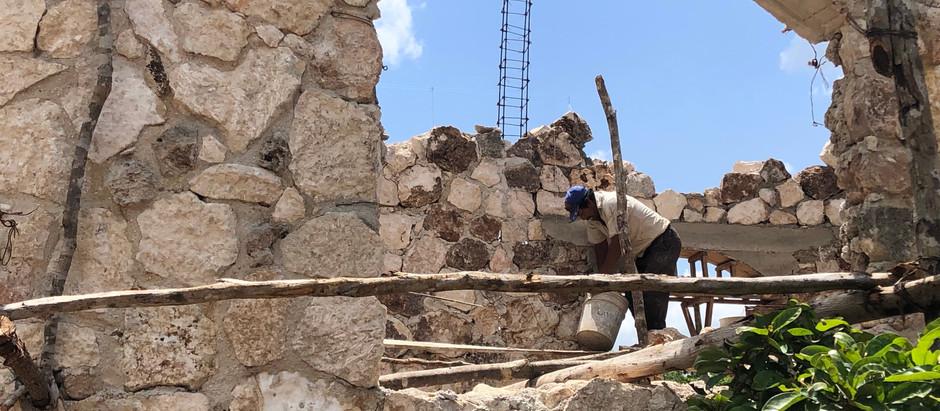 Las casas de piedra en Yucatán