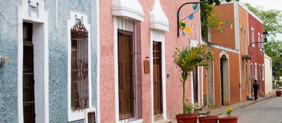 The traditional neighborhoods in Valladolid Yucatan