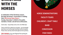 Celebrate Christmas with the Horses