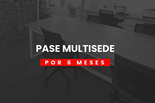PASE MULTISEDE 6 MESES