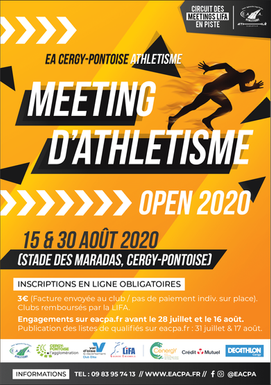 Meeting Open 1 d'athlétisme 2020