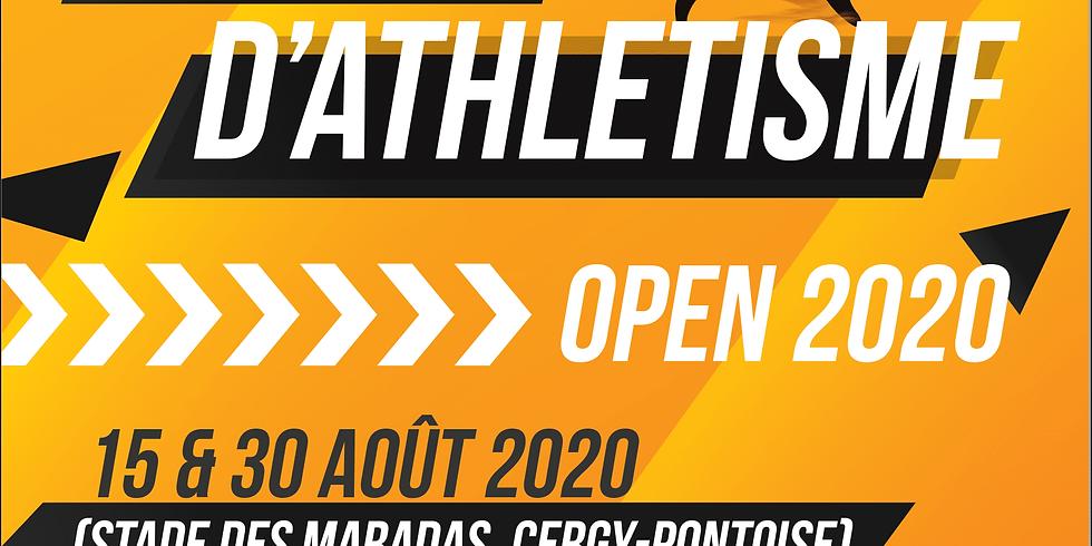 Meeting Open 1 d'athlétisme 2020
