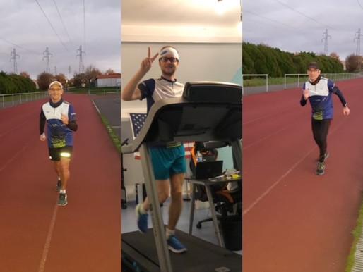 Un challenge 1000m au top pour les traileurs !