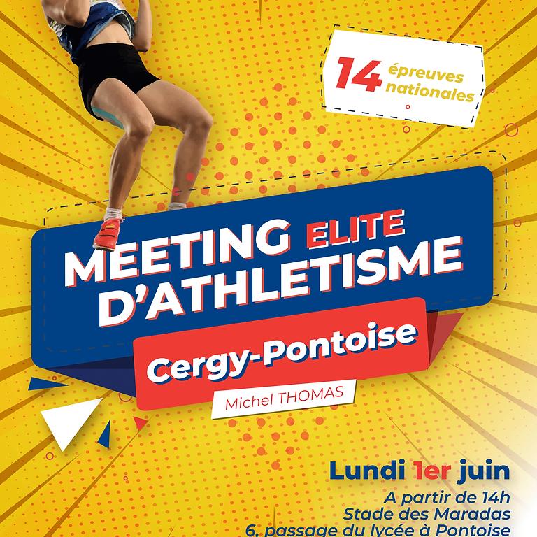 Meeting Elite de Cergy-Pontoise Michel THOMAS