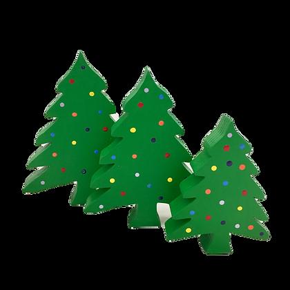 Set of 3 Christmas Trees