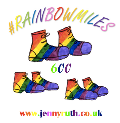 Our #RainbowMiles T-shirts