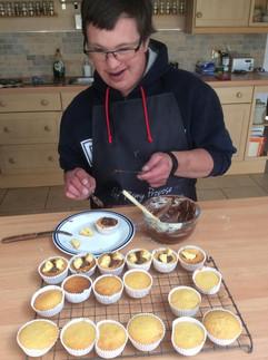 Baking with Daniel