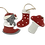 Thumbnail: Red Christmas Tree Decorations