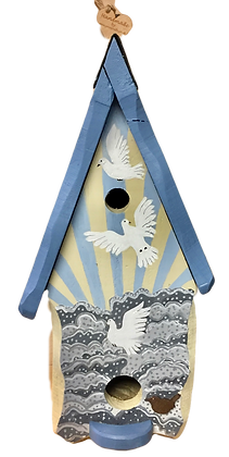 One of a kind large bird boxes (tit)