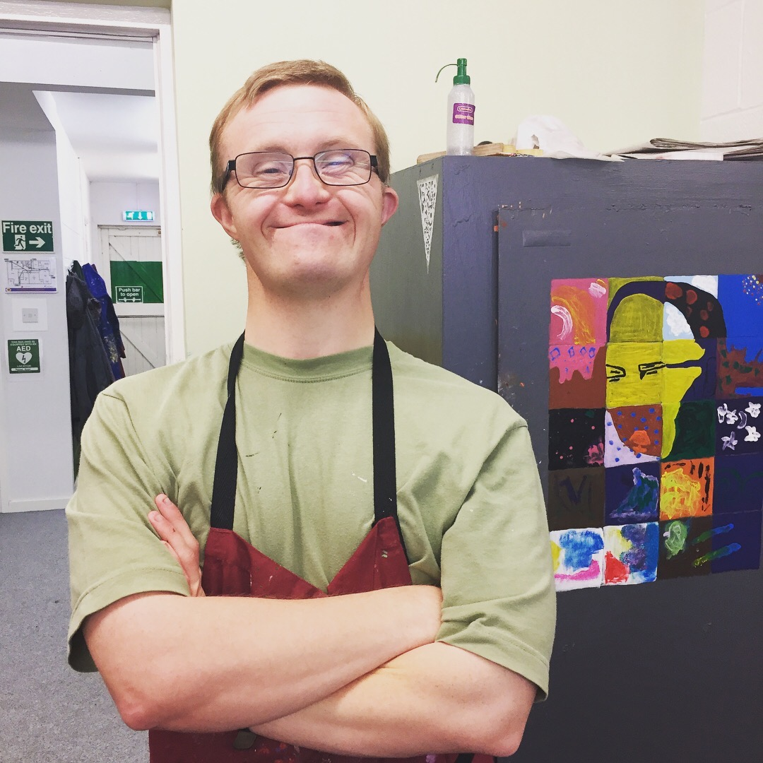 Jamie has been with the team for 12 years. He's one of our talented detail painters, when he's not M
