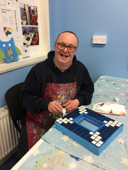 Jonathan is our workshop Foreman and one of our founding members. His speciality is painting rainbow